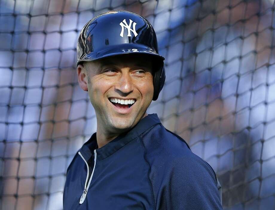 Derek Jeter's legacy is as one of the great Yankees. Photo: Mike Blake, Reuters