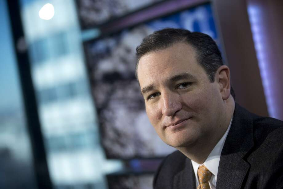 "Sen. Ted Cruz blasted the House Republicans' immigration overhaul effort as ""amnesty."" Photo: Andrew Harrer, Bloomberg"
