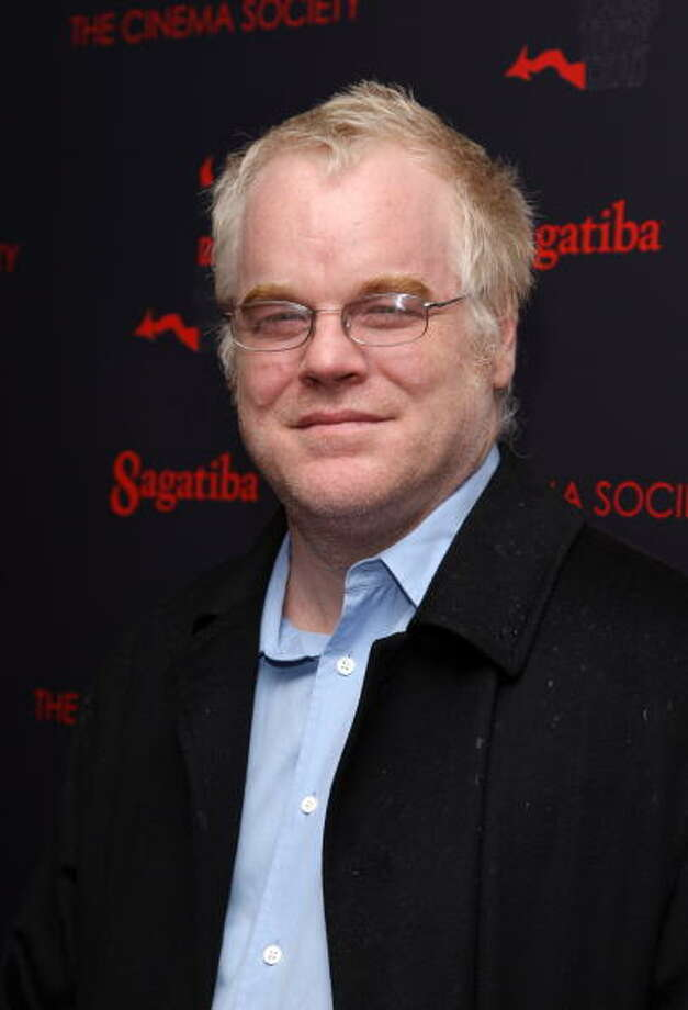 "NEW YORK - OCTOBER 24:  Actor Philip Seymour Hoffman attends the New York premiere of ""Before The Devil Knows You're Dead"" presented by The Cinema Society and Sagatiba at the Regal Union Square on October 24, 2007 in New York City.  (Photo by Stephen Lovekin/Getty Images) Photo: Stephen Lovekin, Getty Images / 2007 Getty Images"
