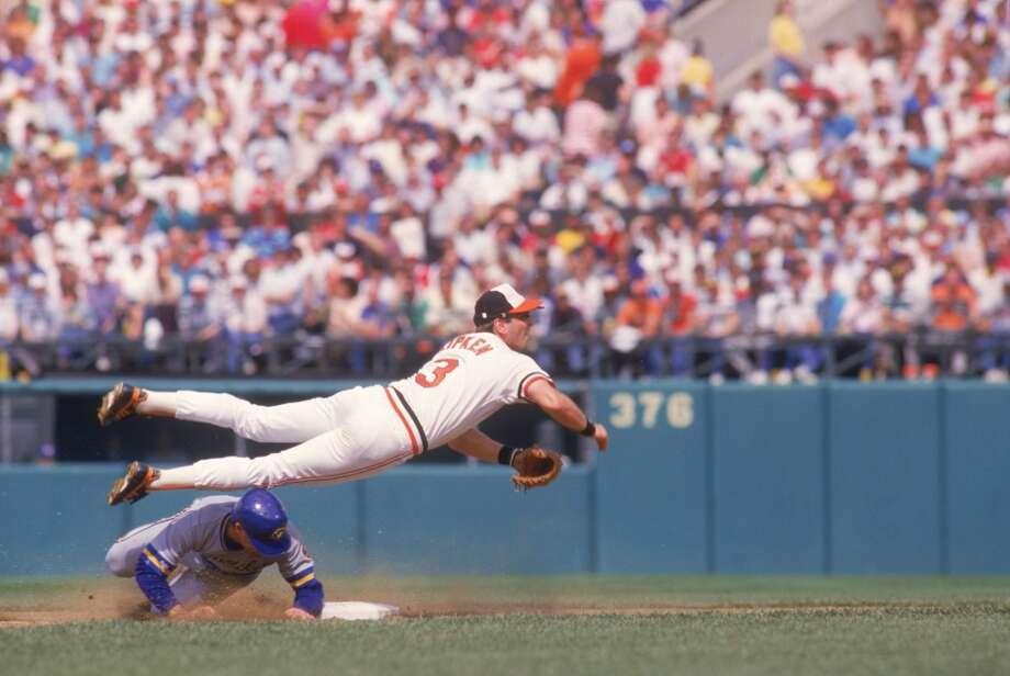 Baltimore Orioles: Cal Ripken Jr. Photo: Focus On Sport, Focus On Sport/Getty Images