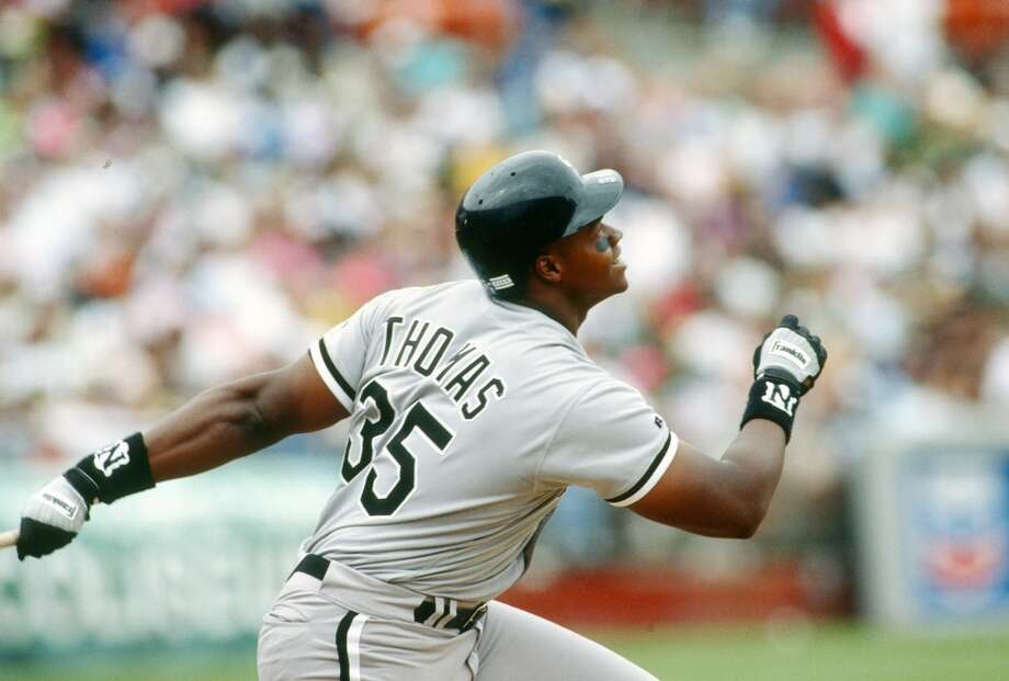 Chicago White Sox: Frank Thomas Photo: Focus On Sport, Getty Images