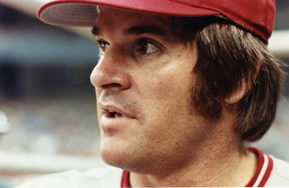 Cincinnati Reds: Pete Rose Photo: Robert Riger, Getty Images