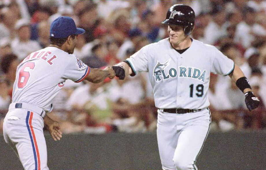 Miami/Florida Marlins: Jeff Conine Photo: PAUL BUCK, AFP/Getty Images / AFP