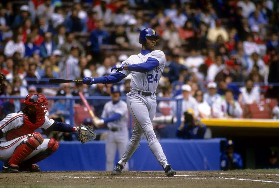 Seattle Mariners: Ken Griffey Jr. Photo: Focus On Sport, Getty Images
