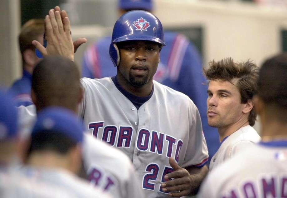 Toronto Blue Jays: Carlos Delgado Photo: JEFF KOWALSKY, AFP/Getty Images