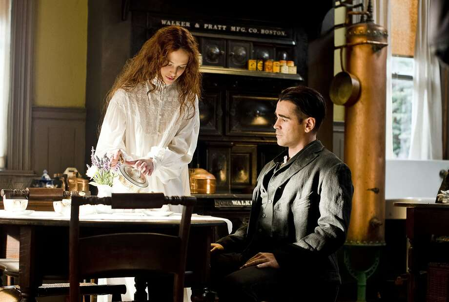 "Brown Findlay and Colin Farrell star in ""Winter's Tale."" Photo: David C. Lee, Warner Bros."