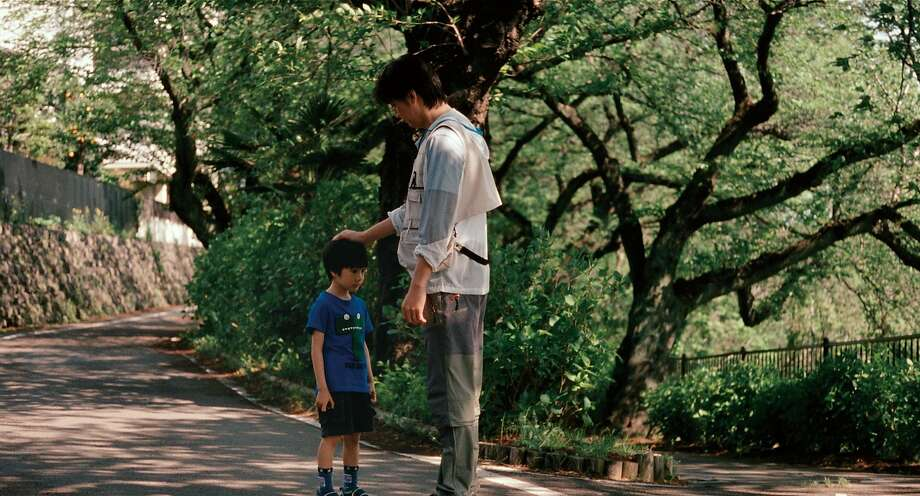 "Masaharu Fukuyama as Ryota Nonomiya (Father) and Keita Ninomiya as Keita (Son) in Hirokazu Kore-eda's switched-at-birth film, ""Like Father, Like Son."" Photo: Sundance Selects"