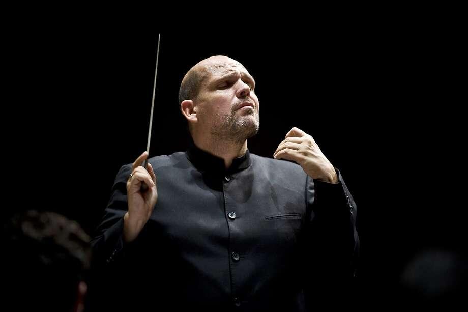 Jaap van Zweden made his Symphony debut. Photo: Bert Hulselmans