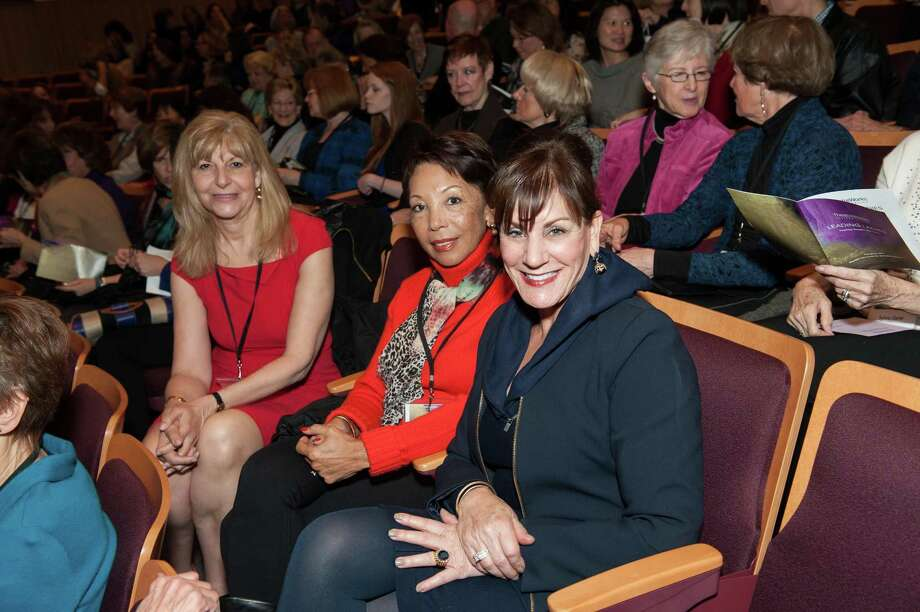 Judy Heyboer, Caretha Coleman and Marianne Jackson at TheatreWorks Leading Ladies event celebrating arts and innovation on February 8, 2014. Photo: Susana Bates For Drew Altizer, Drew Altizer Photography / Drew Altizer Photography