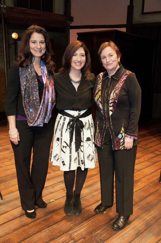 Natalie Batalha, Randi Zuckerberg and Ann Bowers at TheatreWorks Leading Ladies event celebrating arts and innovation on February 8, 2014. Photo: Susana Bates For Drew Altizer, Drew Altizer Photography / Drew Altizer Photography