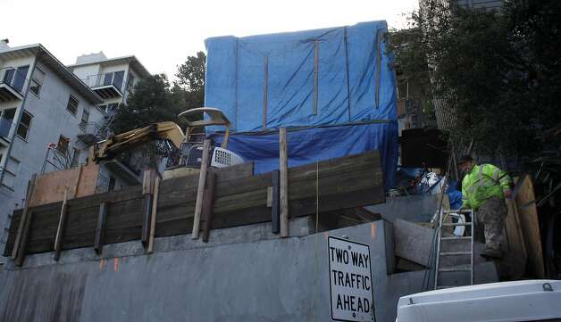 Slew of permit problems cited in s f house collapse sfgate for 125 crown terrace