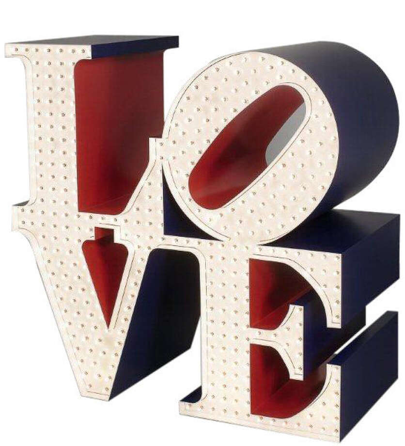 """Beyond Love"" is an exhibit of Robert Indiana's works at the McNay Art Museum. Photo: Courtesy Photo"
