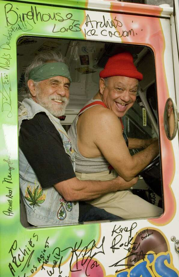 Tommy Chong and Cheech Marin will perform April 6 at the Majestic Theatre. Photo: Courtesy Photo