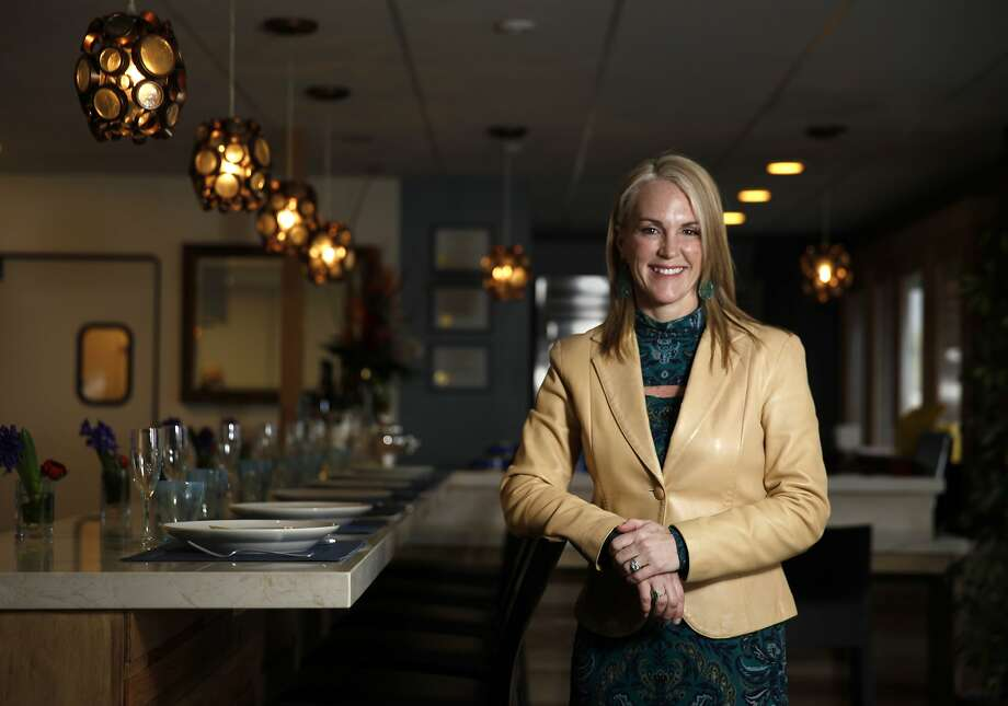Deborah Keane says California Caviar Co. in Sausalito will be the only retail site of its kind, offering caviar tastings and pairings with wine, beer and sake. Photo: Lea Suzuki, The Chronicle