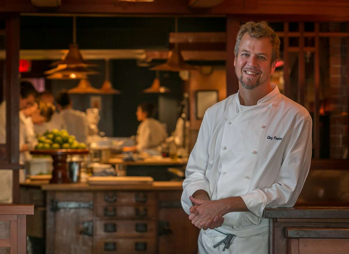 Chef Cal Peternell at Chez Panisse in Berkeley, Calif., is seen on Tuesday, February 11th, 2014.