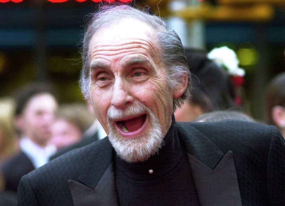 "FILE - In this May 5, 2002 file photo, Sid Caesar, of ""Your Show of Shows,"" arrives at NBC's 75th anniversary celebration in New York. Caesar, whose sketches lit up 1950s television with zany humor, died Wednesday, Feb. 12, 2014. He was 91.  (AP Photo/Ron Frehm, File) ORG XMIT: NYET923 Photo: Ron Frehm / AP"