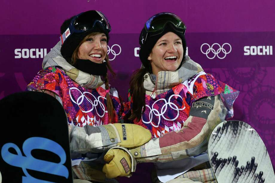 Kelly Clark (right)