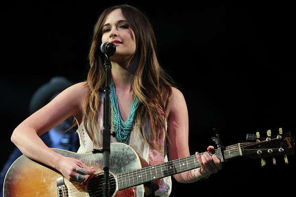 Grammy award winning Kacey Musgraves performs after the San Antonio Stock Show Rodeo at the AT&T Center, Wednesday, Feb. 12, 2014.