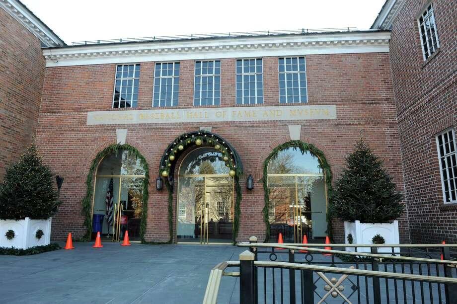 Exterior of the Baseball Hall of Fame Wednesday, Jan. 8, 2014 in Cooperstown, N.Y. (Lori Van Buren / Times Union) Photo: Lori Van Buren / 00025278A