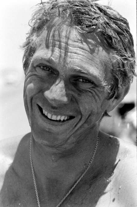 Close-up of American actor Steve McQueen (1930 - 1980) as he smiles, Palm Springs, California May 1963. (Photo by John Dominis/Time & Life Pictures/Getty Images) Photo: John Dominis / Time & Life Pictures