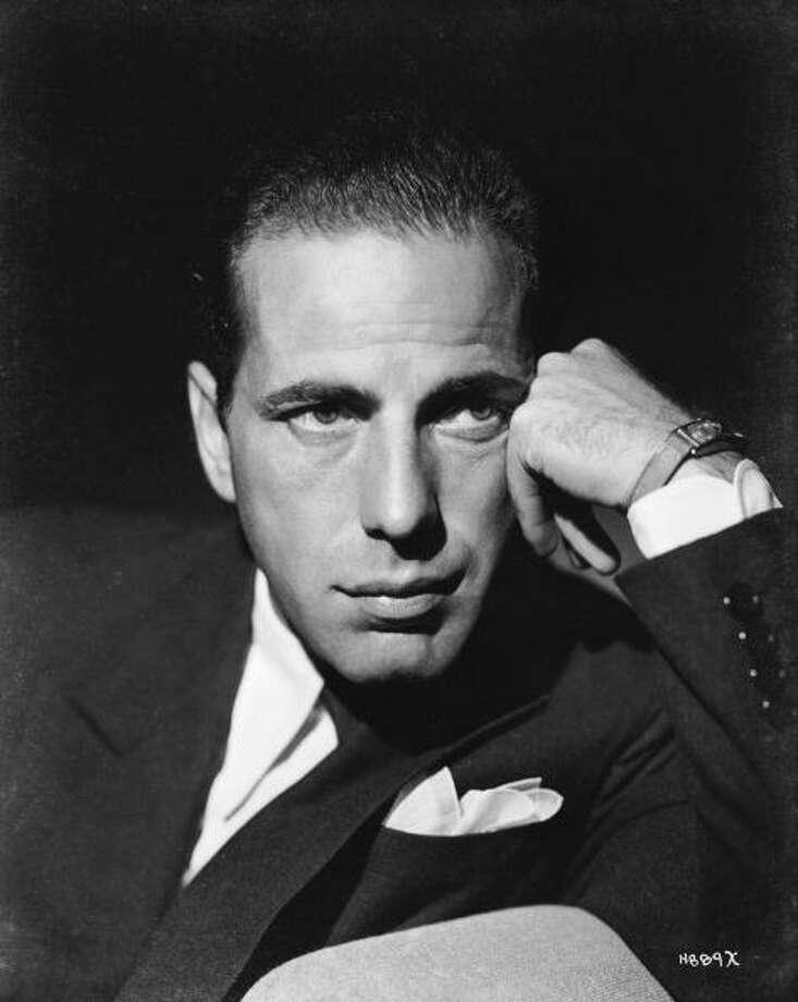 American actor Humphrey Bogart (1899 - 1957).  (Photo via John Kobal Foundation/Getty Images) Photo: John Kobal Foundation, Getty Images / Moviepix