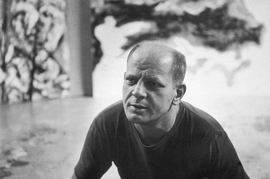 Jackson Pollock (1912 - 1956) at his studio in East Hampton, New York.  (Photo by Tony Vaccaro/Hulton Archive/Getty Images) Photo: Tony Vaccaro, Getty Images