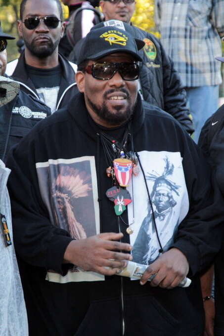 Afrika Bambaataa attends the Stop The Violence In The Bronx Event on September 23, 2012 in the Bronx burough of New York City.  (Photo by Johnny Nunez/WireImage) Photo: Johnny Nunez, WireImage / 2012 Johnny Nunez