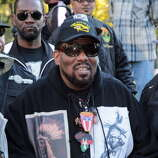 Afrika Bambaataa attends the Stop The Violence In The Bronx Event on September 23, 2012 in the Bronx burough of New York City.  (Photo by Johnny Nunez/WireImage)