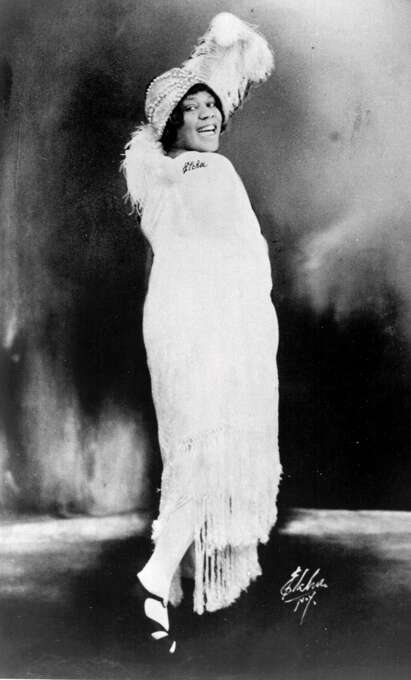 Bessie Smith evolved from street musician to vaudeville performer, to become one of the greatest classic blues singers of the 1920s. Photo: Frank Driggs Collection  Frank Driggs Collection / Frank Driggs Collection Photo: Frank Driggs Collection, SFC