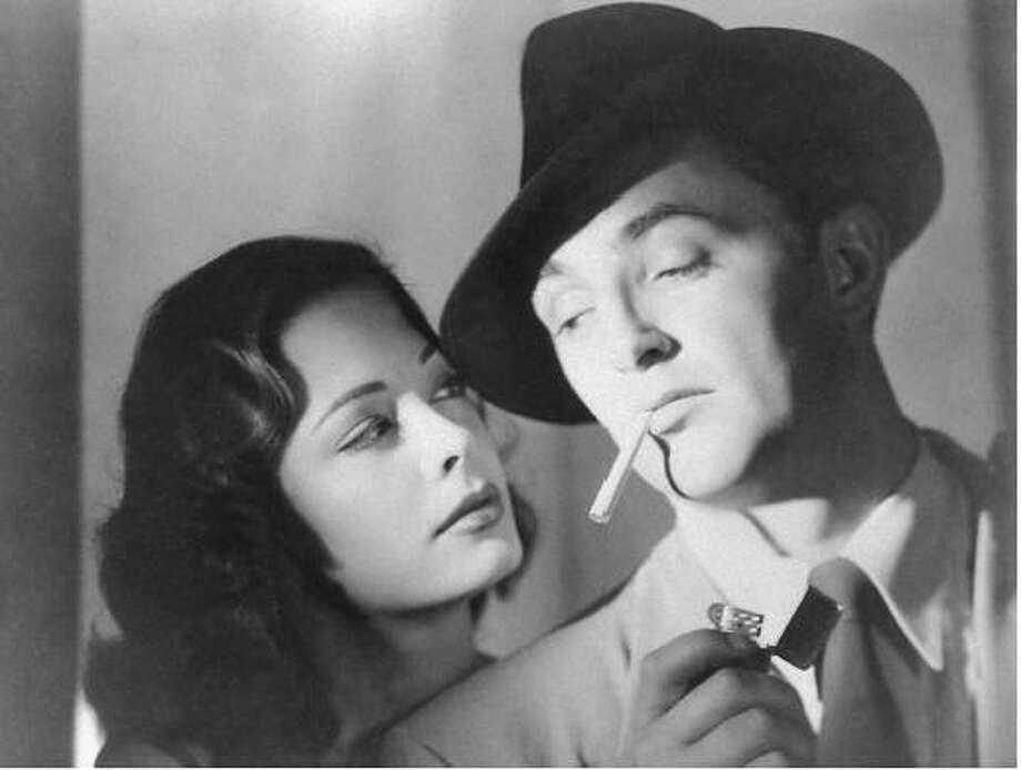 Robert Mitchum, actor. Photo: RKO 1947