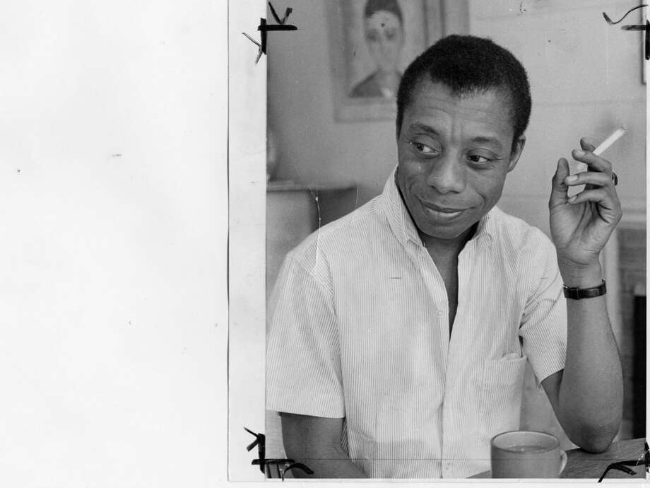 JAMES BALDWIN, writer. Photo: Phiz Mozesson