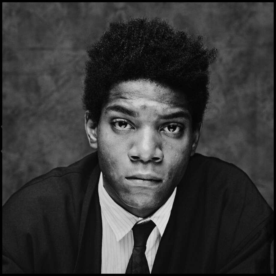 American artist Jean Michel Basquiat (1960 - 1988), London, 1984. (Photo by Chalkie Davies/Getty Images) Photo: Chalkie Davies, Getty Images / 1984 Chalkie Davies