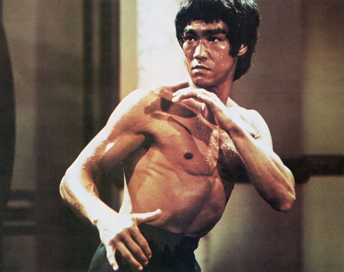 Bruce Lee, actor and martial artist.