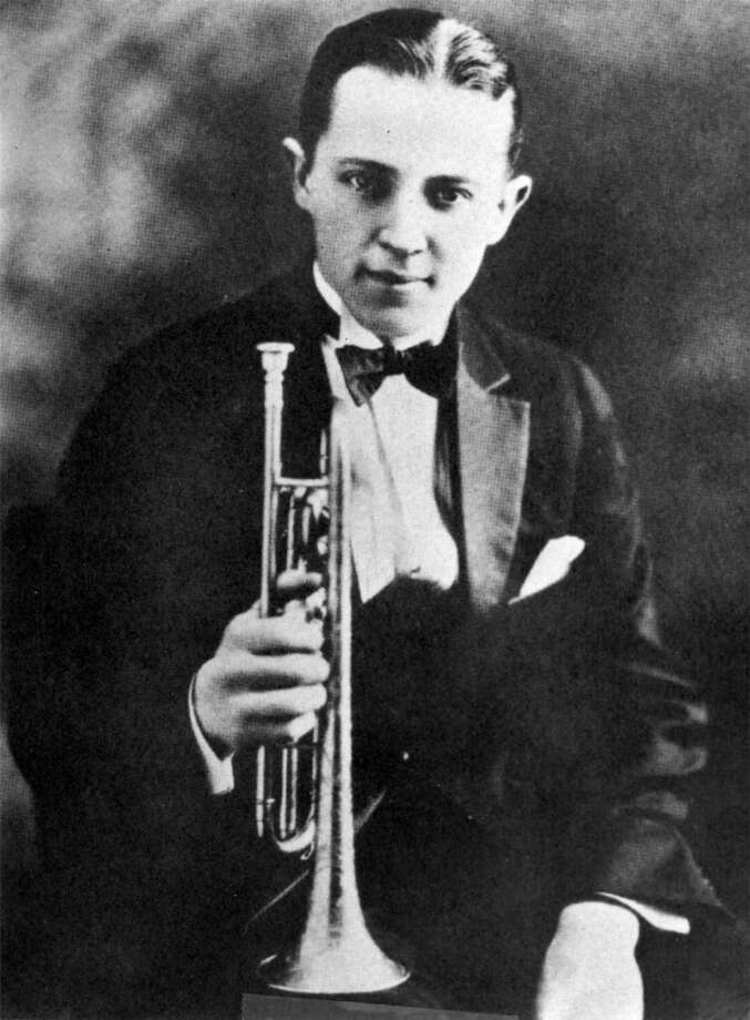 Bix Beiderbecke, cornet player. Photo: HANDOUT, SFC
