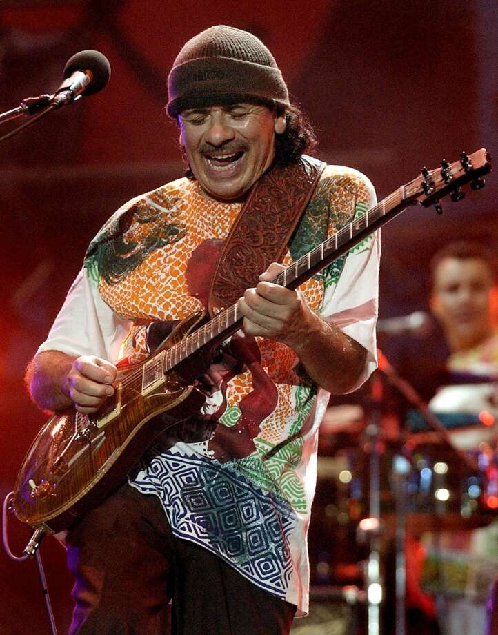 Carlos Santana, musician. Photo: TONY GUTIERREZ, AP