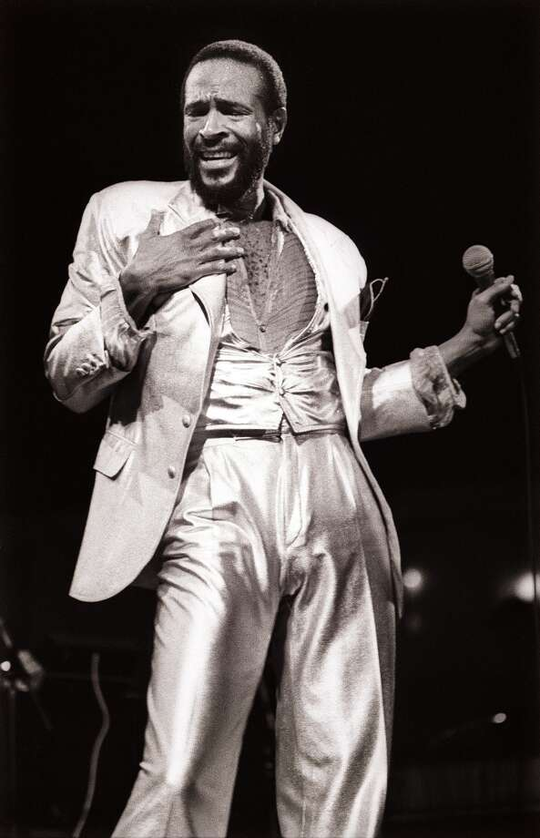 Marvin Gaye, singer. Photo: Rob Verhorst, Redferns