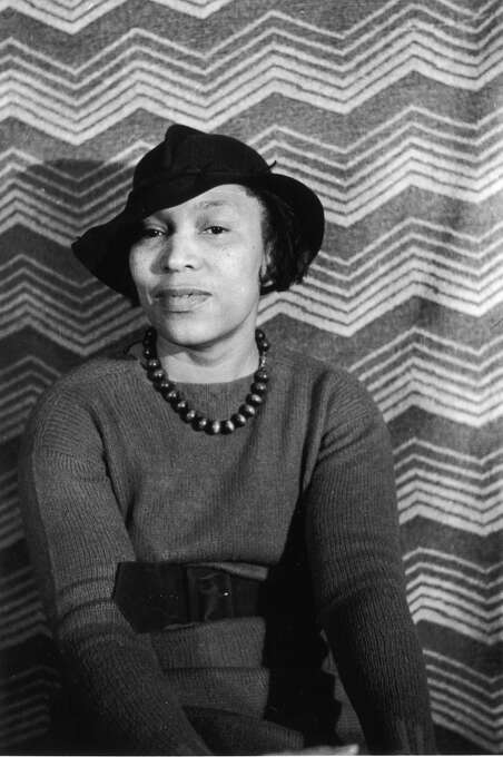 Portrait of author Zora Neale Hurston, circa 1940s. (Photo by Fotosearch/Getty Images). Photo: Fotosearch, Getty Images