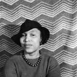 Portrait of author Zora Neale Hurston, circa 1940s. (Photo by Fotosearch/Getty Images).