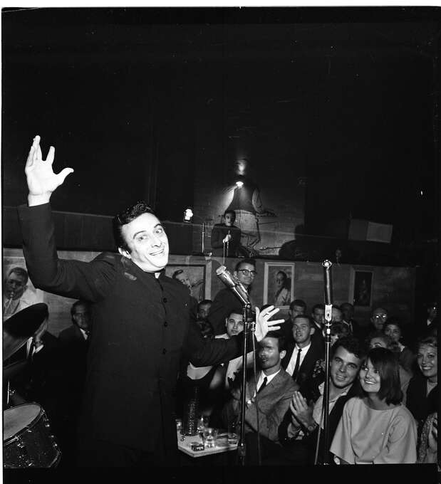 Lenny Bruce at the Jazz Workshop 1961 Photo: Bob Campbell, The Chronicle
