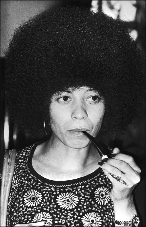 Angela Davis, photographed in 1975. Photo: -, AFP/Getty Images