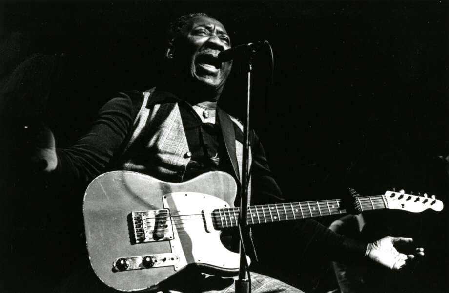 Muddy Waters in a 1981 publicity still, before his performance at the Paul Masson Mountain Winery. Photo: Mark Mander