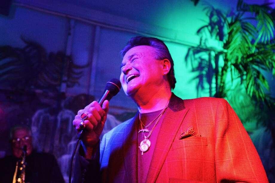 Pop legend G.G. Shinn performs live at the Capri Club on Saturday night. Michael Rivera/@michaelrivera88