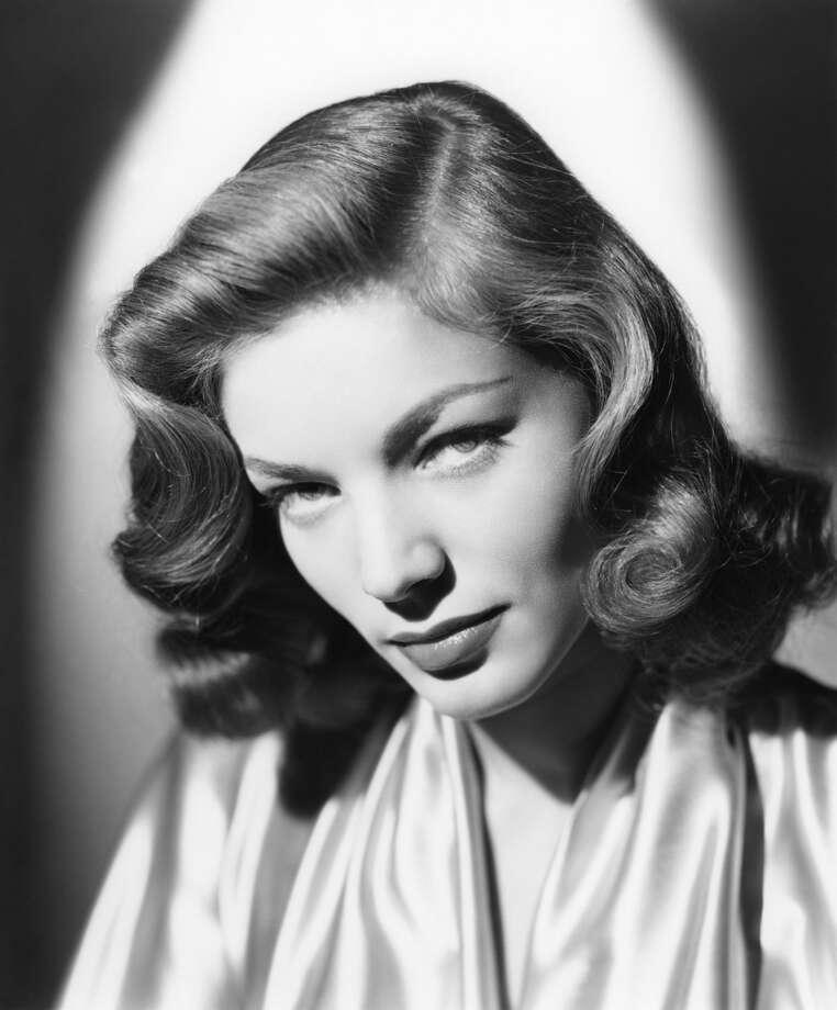 Lauren Bacall, actress. Photo: UCelebrities