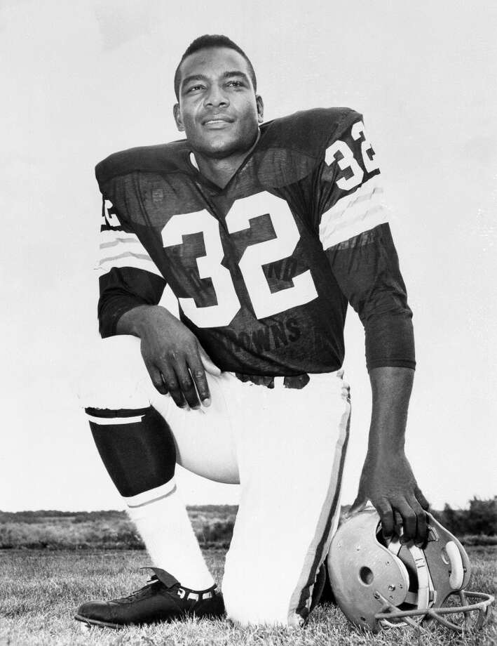 Running back Jim Brown Photo: Uncredited, Associated Press
