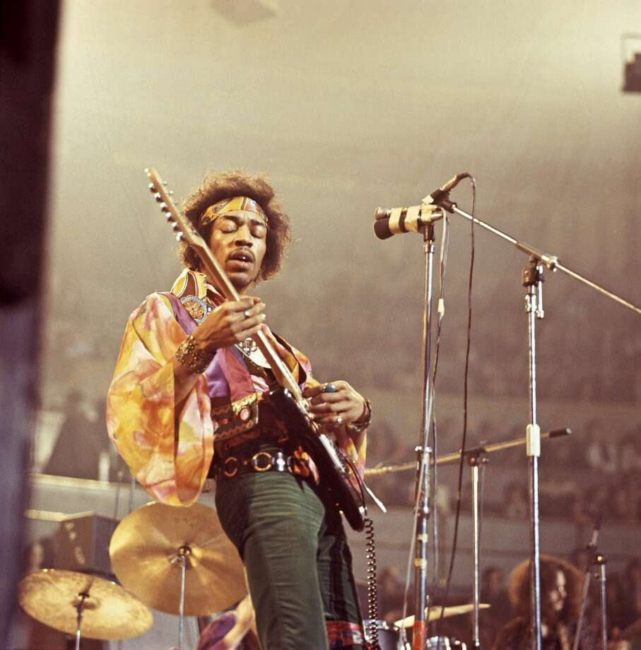 Jimi Hendrix, guitarist and singer. Photo: David Redfern, Redferns
