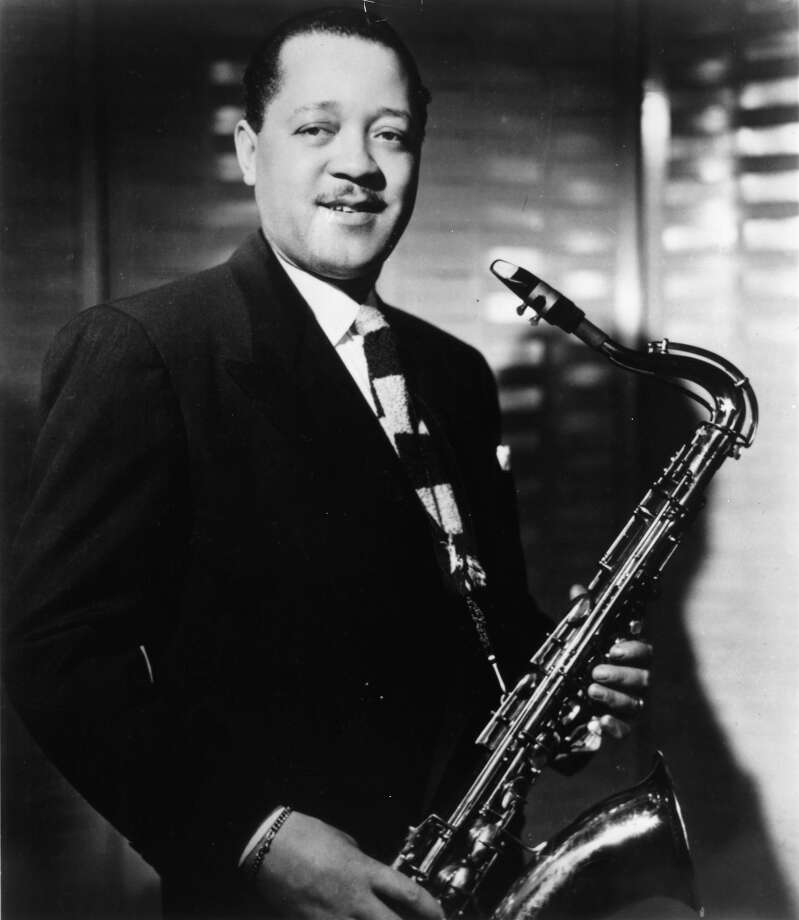 Lester Young, with saxophone Photo: Gilles Petard, Redferns