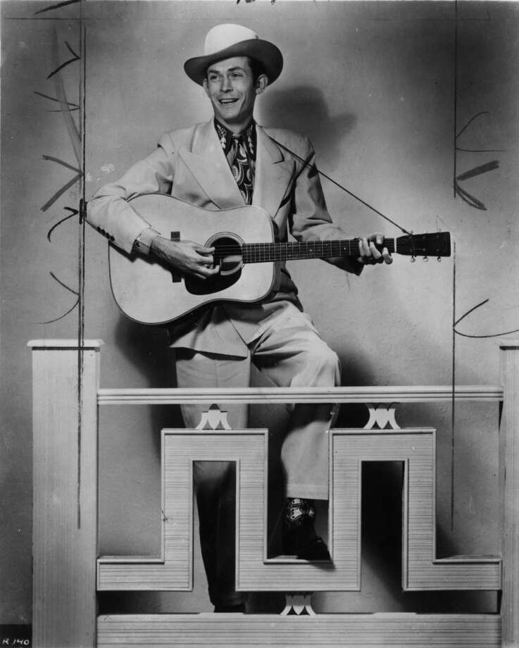 Hank Williams, country music singer and songwriter. Photo: MGM Records