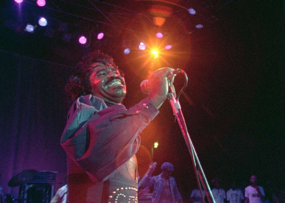 "James Brown in ""Soul Power."" Photo: Sony Pictures Classics"