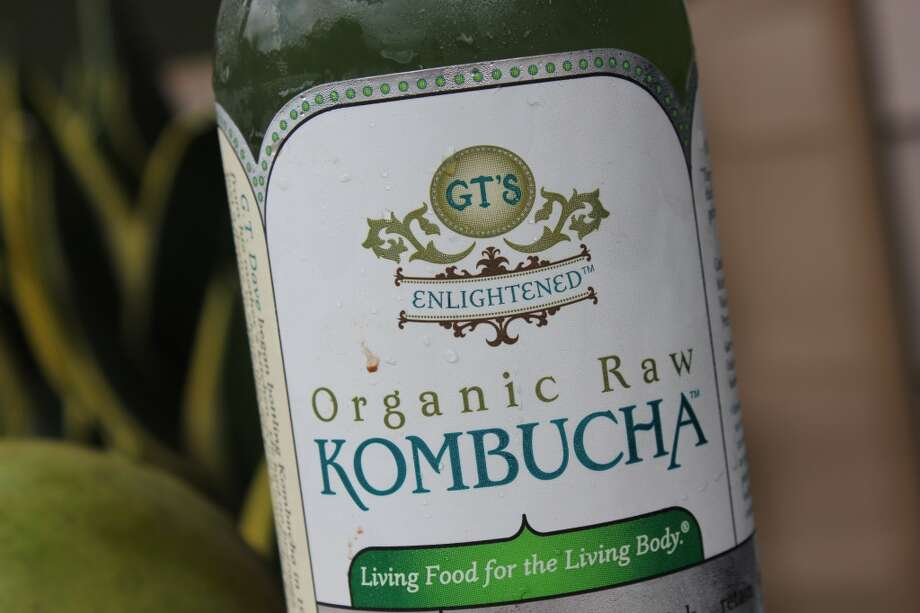 Kombucha drinks come in various flavors and brands.