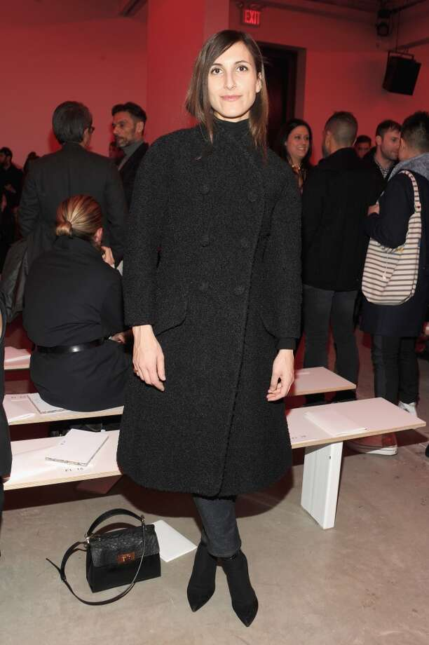 Samantha Traina attends the Proenza Schouler fashion show. Photo: Ben Gabbe, Getty Images